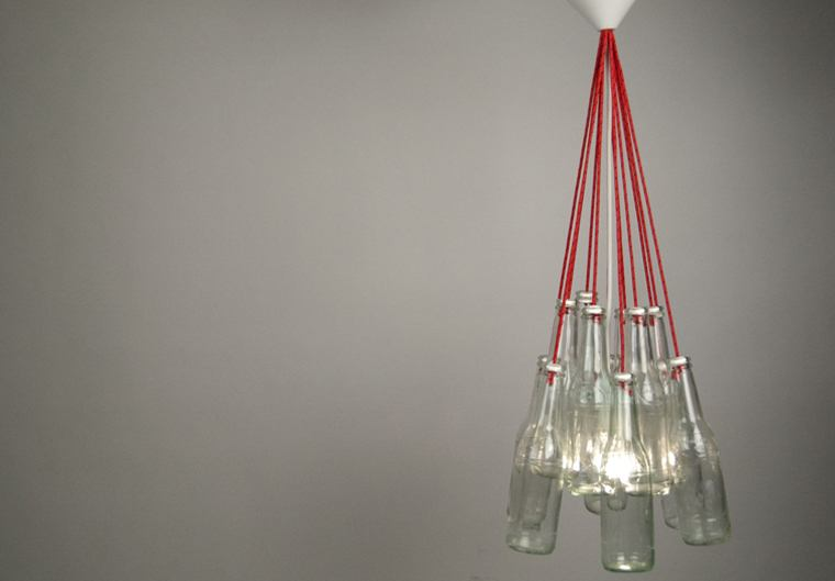 Re-Bottle Lamp