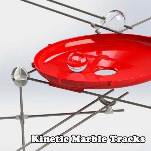 Kinetic Marble Tracks