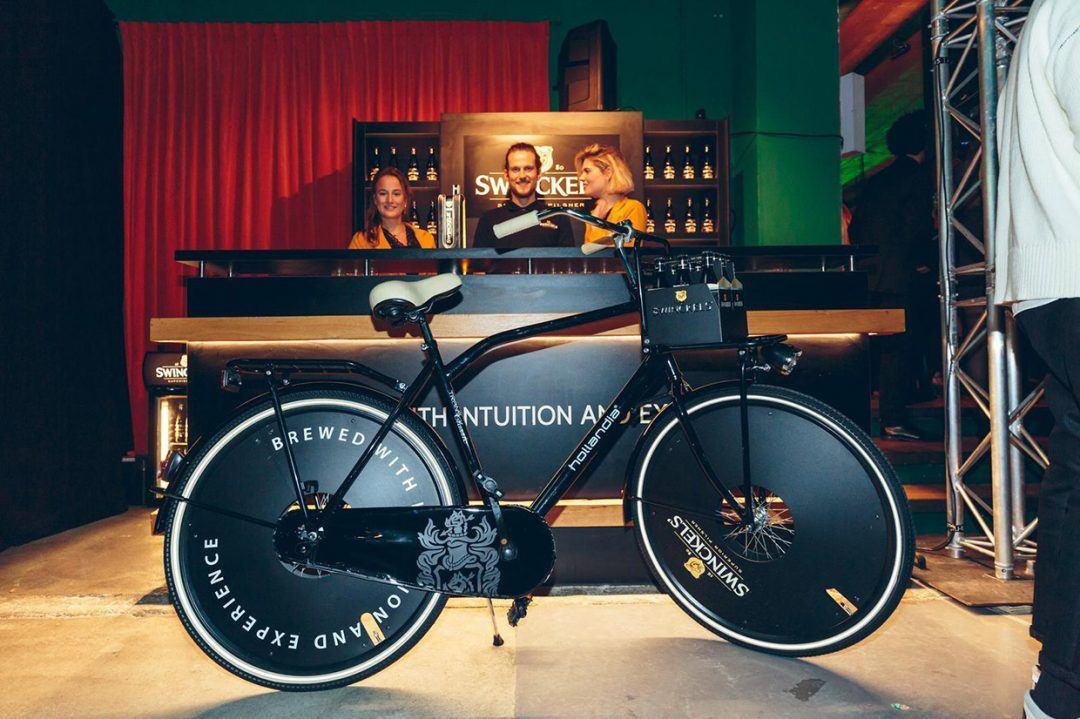 Branded fiets